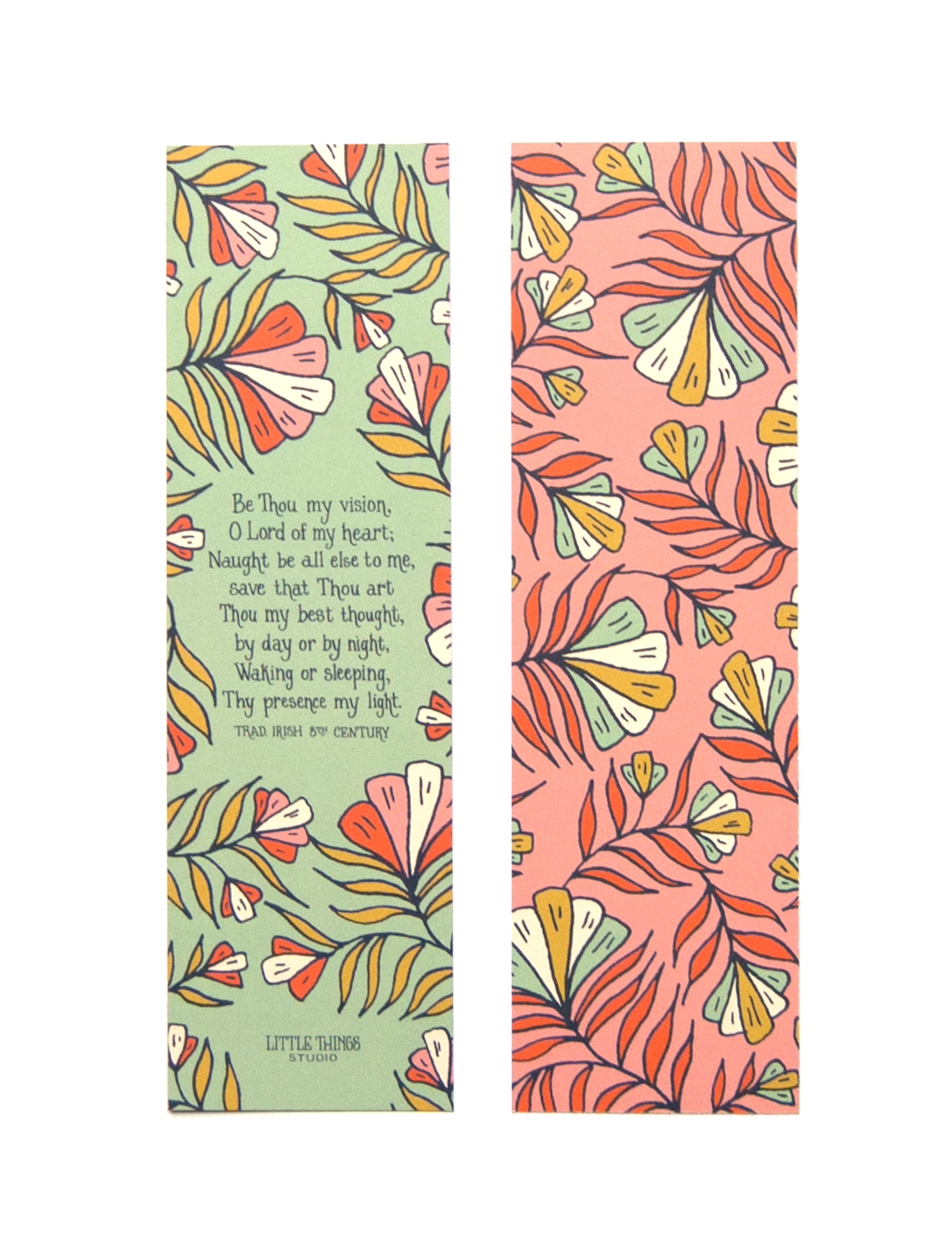 Hymn Bookmarks set of 8